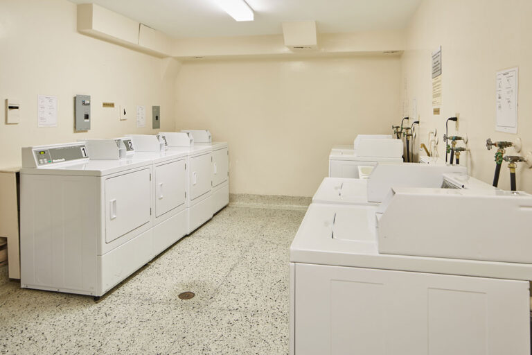 The Park Mills laundry room