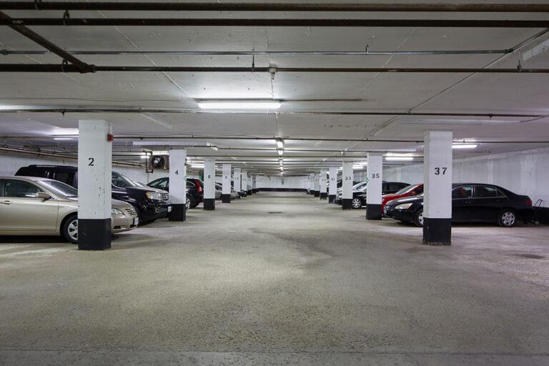 The Park Mills parking garage