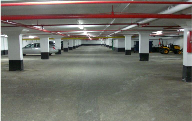 Humber River Apartments Parking Garage