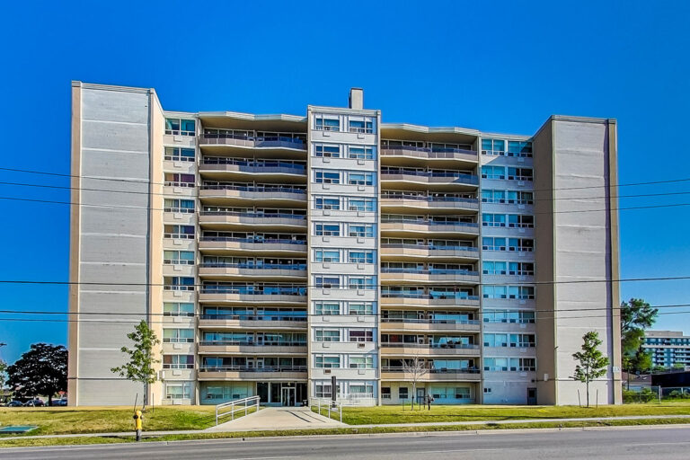 Humber River Rental Apartment Building