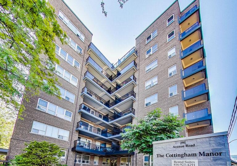 Cottingham Manor Apartment Rentals at 291 Avenue Rd.