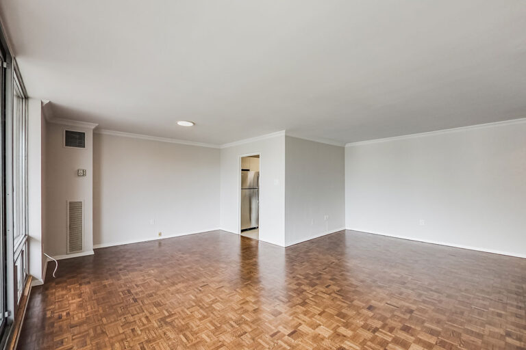 Dining and living space in luxury two bedroom apartment - The Summerhill at Yonge & St. Clair