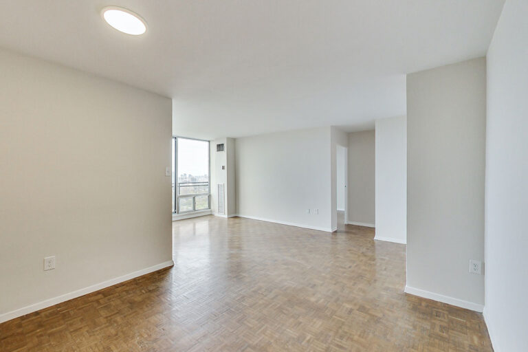 Open concept one bedroom apartment - The Summerhill at Yonge & St. Clair