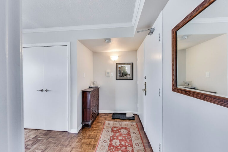Entry to penthouse apartment - The Summerhill at Yonge & St. Clair