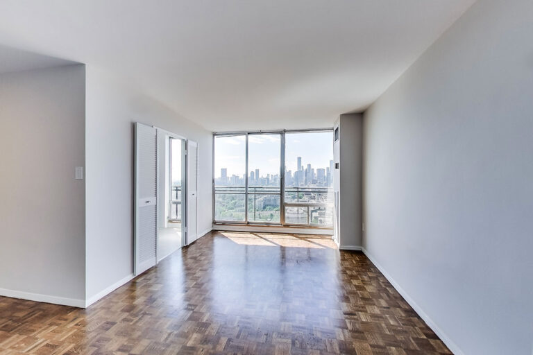 Dining space in one bedroom apartment - The Summerhill at Yonge & St. Clair