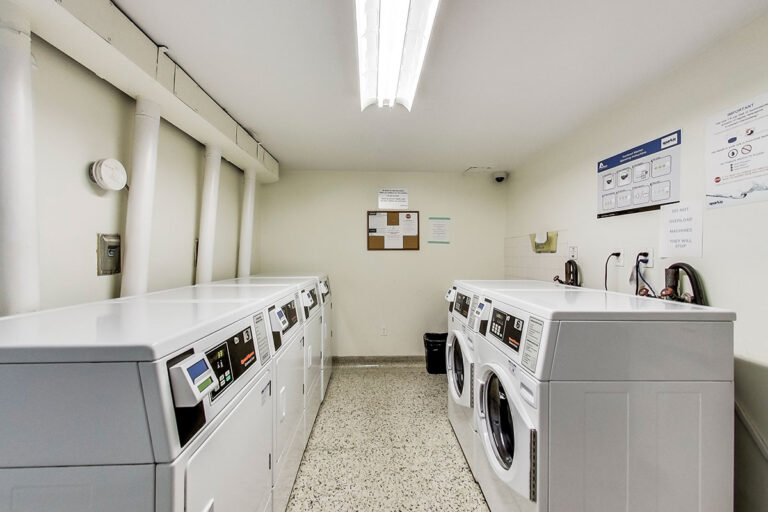 Humber River Apartments Laundry Room