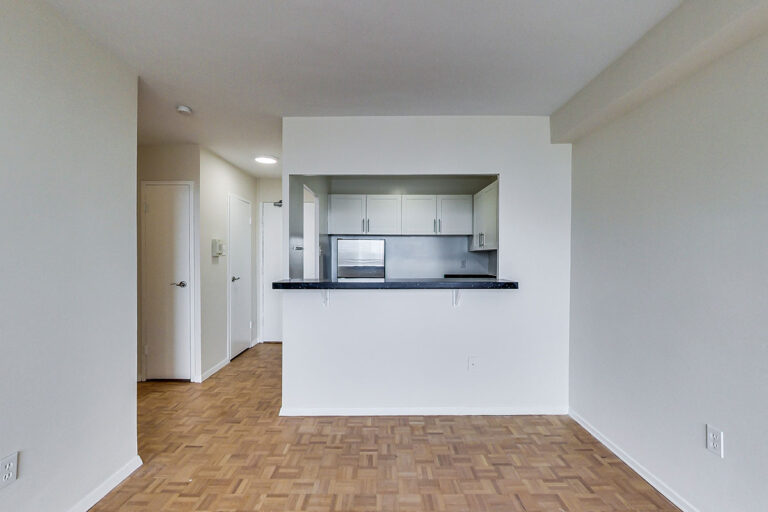 Jr. one bedroom apartment with peek through kitchen - The Summerhill at Yonge & St. Clair