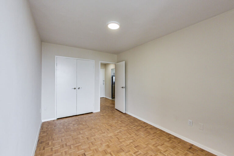 Closet in jr. one bedroom apartment - The Summerhill at Yonge & St. Clair