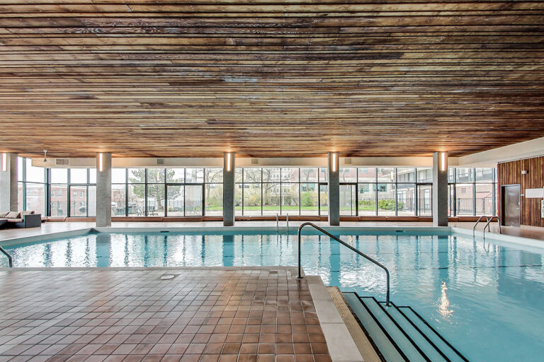 Pool at The Summerhill – luxury rental apartment in Toronto
